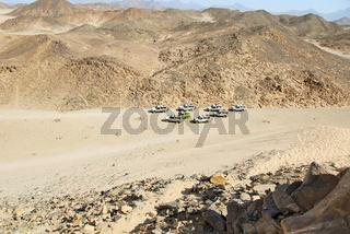 Safari at Egypt desert