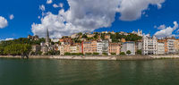 Old town of Lyon - France