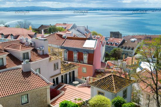 Lisbon from Castelo de Sao Jorge (Portugal)