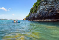 Travel by kayak