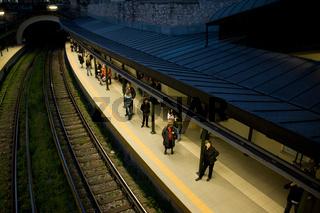 U-Bahnstation in Athen