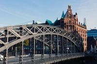 Historic Warehouse District, Hamburg, Germany