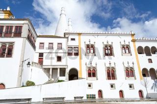 Palacion Nacional de Sintra in Portugal