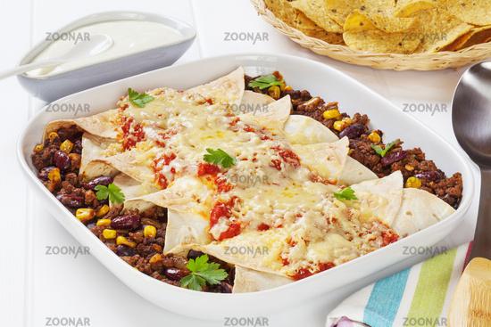 Enchiladas Mexican Food