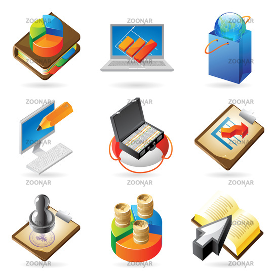 Icon concepts for business