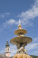 Detail of the Residenz fountain
