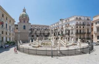 Fontana Pretoria  - Palermo