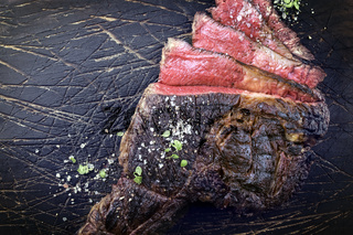 Barbecue Kobe Tomahawk Steak