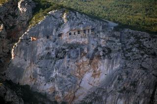 Tunnel du Fayet, Gorges du Verdon, Frankreich