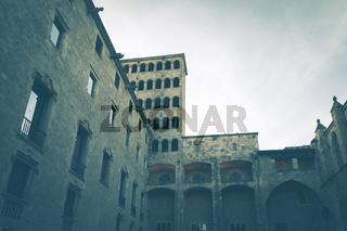 Der Palast am Placa del Rei, früherer Schauplatz der Inquisition.