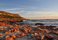 Cliffs of Son Bou by sunset