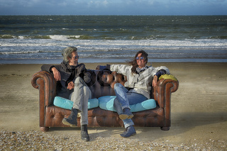Sofa am Meer