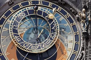 Astronomische Uhr in Prag am Altstädter Rathaus