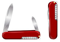 Swiss Army Knife. Vector