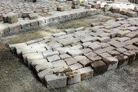 installation of granite paving