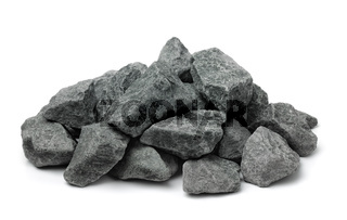 Pile of crushed granite