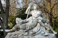 Count Eberhard monument - Stuttgart