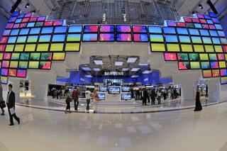 Halle der Firma Samsung auf der Internationalen Funkausstellung IFA in Berlin