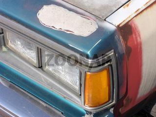 Schrottfahrzeug
