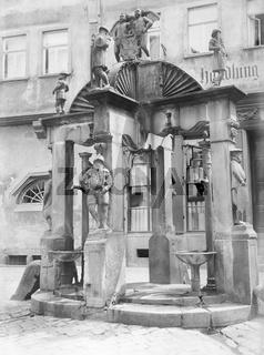 historic fountain in Wertheim am Main