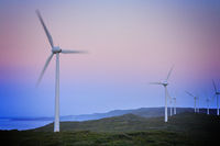 Wind Turbines before Dawn, Albany Wind Farn, Western Australia