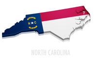 Map North Carolina