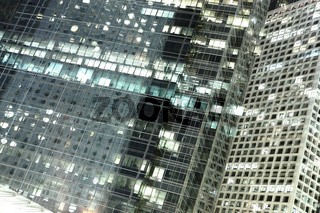 office at night abstract