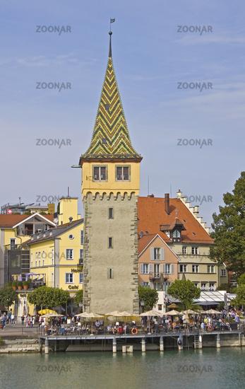 Lindauer port with Mangturm