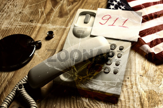 violance telephone call crack glass