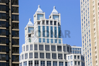 Office and apartament buildings in Chicago