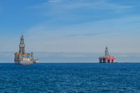 ship and drilling platform ,  offshore drill platform