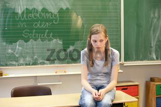 Schule und Mobbing - horizontal -