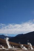 Geysire im Hochland der Atacama in Chile