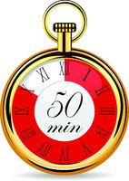 mechanical watch timer 50 minutes