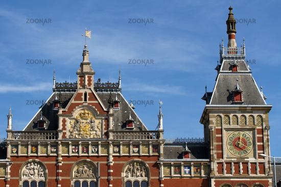 Central Station 001. Amsterdam. Netherlands