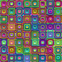 texture of bright colored 3d rounded squares