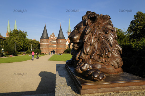 Luebeck, Germany, Historic Holstentor