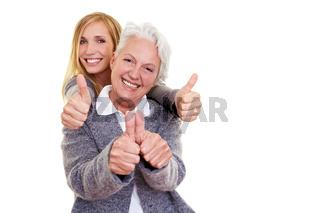 Zufriedene Generationen