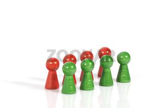 rot-gruene koalition-red-green coalition
