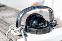 compass on a sailing yacht