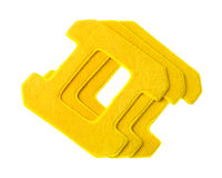 Sponges for windows cleaning robot