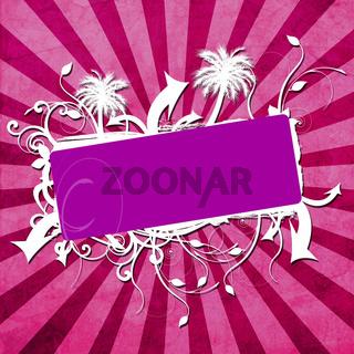 Party Hintergrund lila