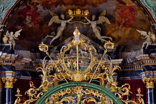 Stiftskirche St. Gallus und Otmar, St. Gallen, Schweiz