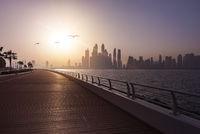 Dubai Skyline Boardwalk