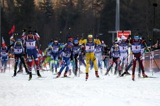 IBU Biathlon Staffel Herren - Ruhpolding