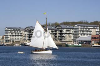 Gaffelsegler - Traditions-Sailboat