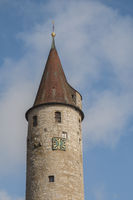 historic Tower Gate in Kirchberg/Jagst, Germany