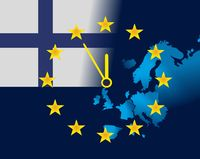 EU and flag of Finland - five minutes to twelve.jpg