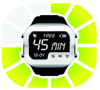 digital watch timer 45 minutes