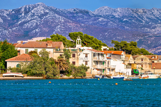 Kastel Gomilica waterfront panoramic view